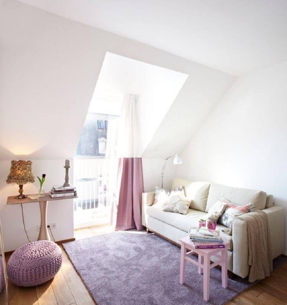 casas minimalistas decoradas em tons de rosa