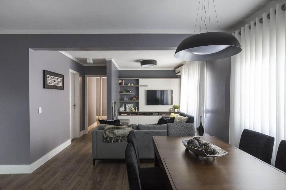 cinza como cores de casas
