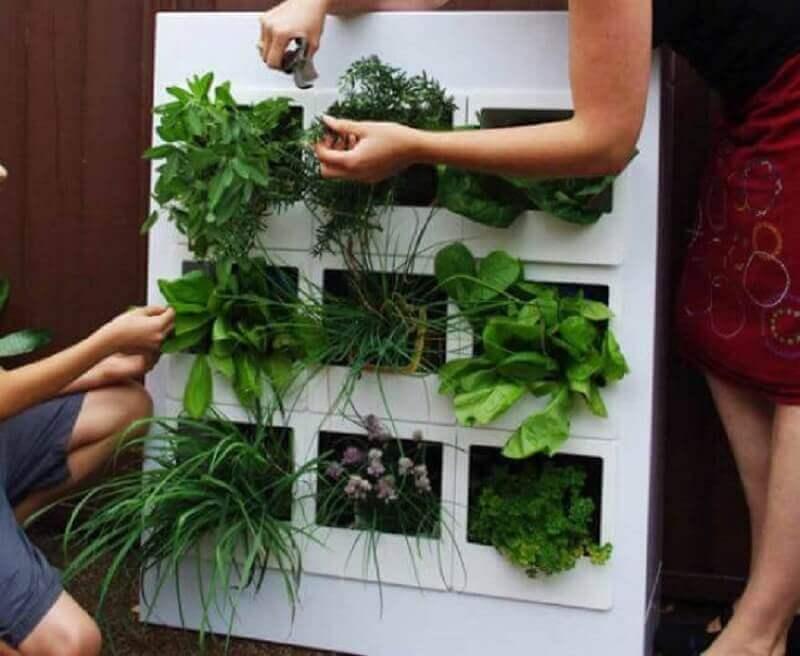 como fazer horta em apartamento com nichos
