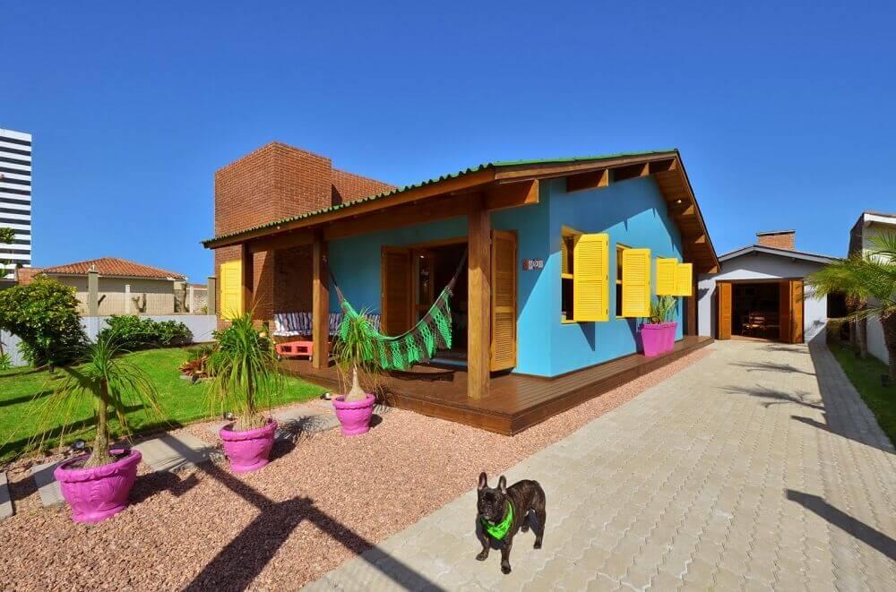 cores de tintas para pintar casa colorida