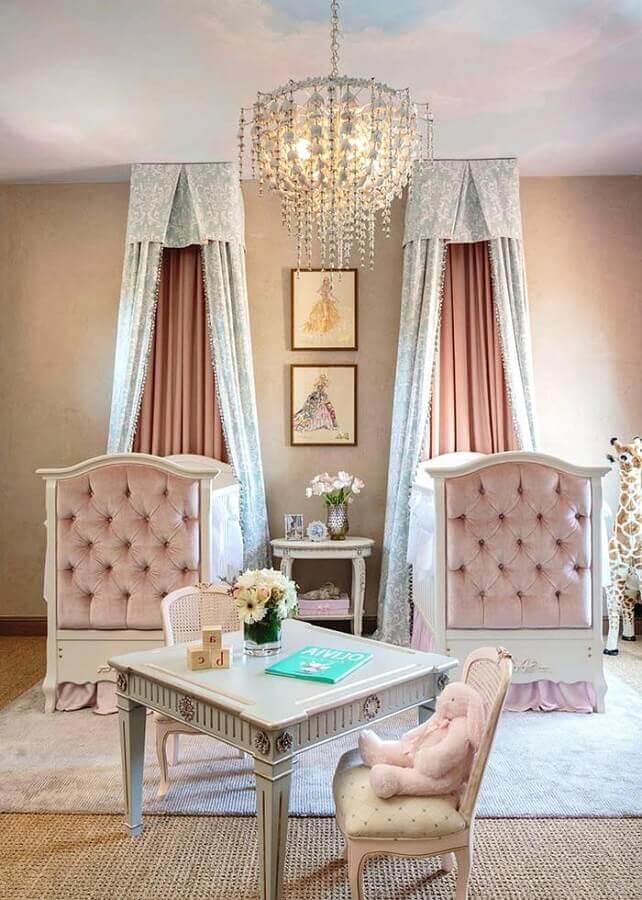 decoração para quarto de bebê provençal