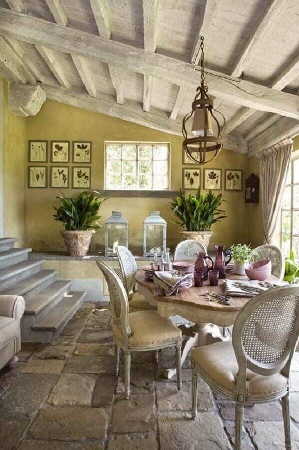 decoração provençal rústica