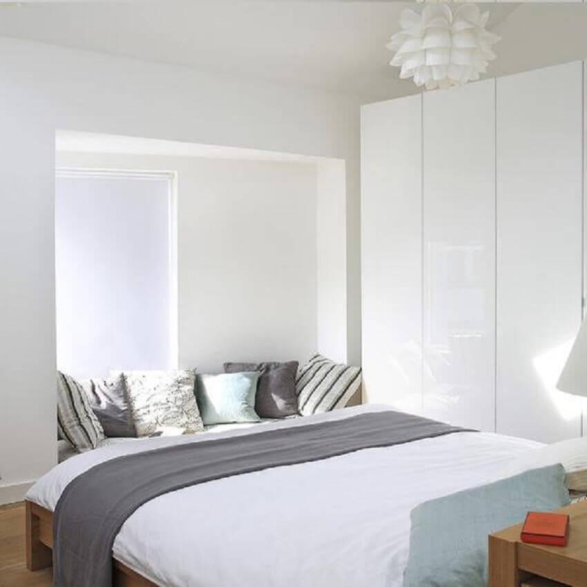 decoração quarto minimalista