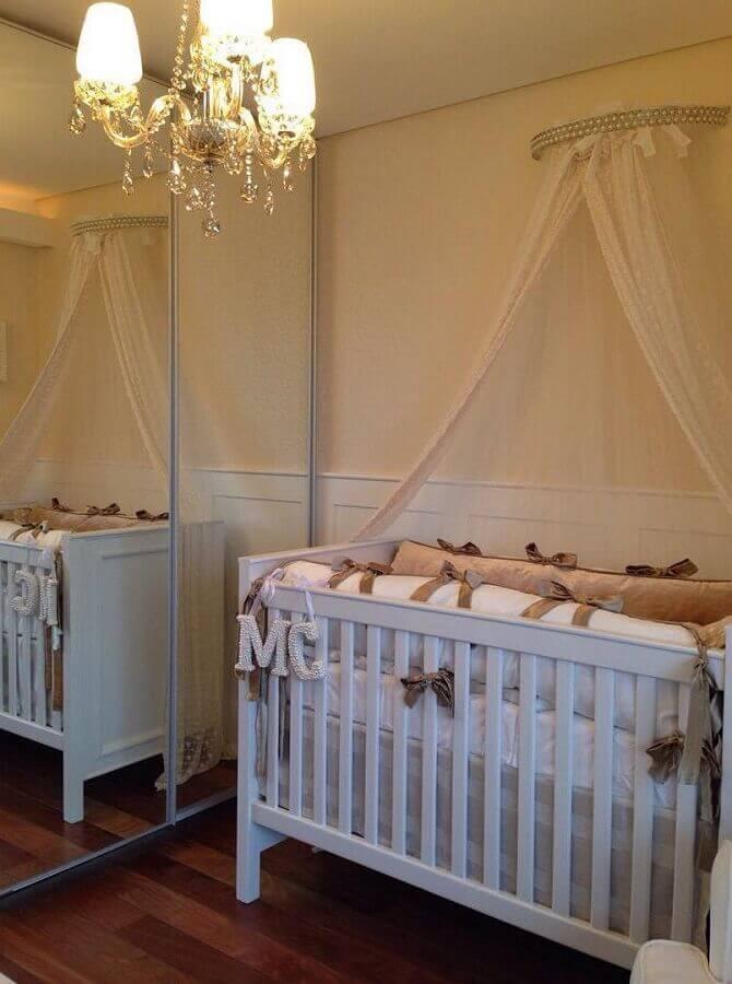 decoração quarto provençal para bebê