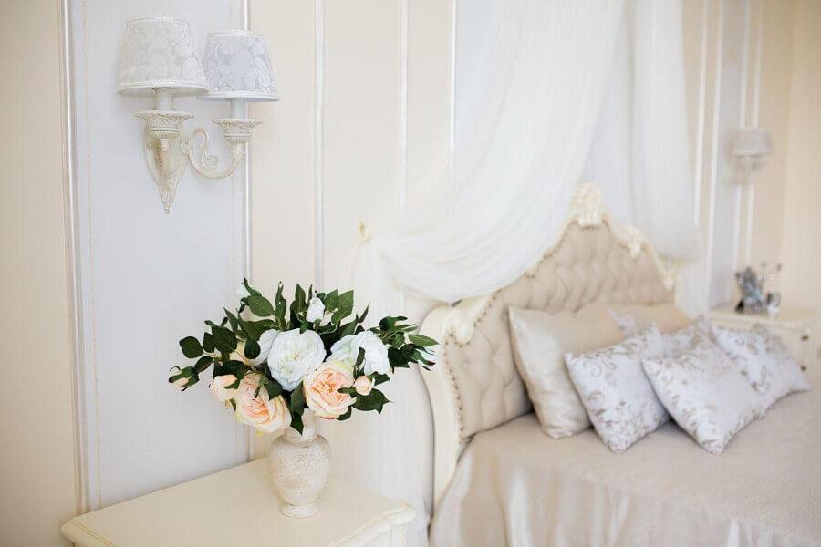 decoração quarto provençal romântico