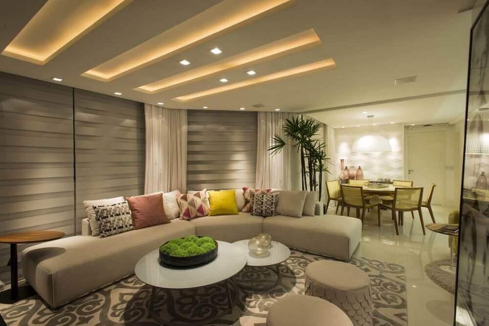 design arrojado para modelos de sofá de canto