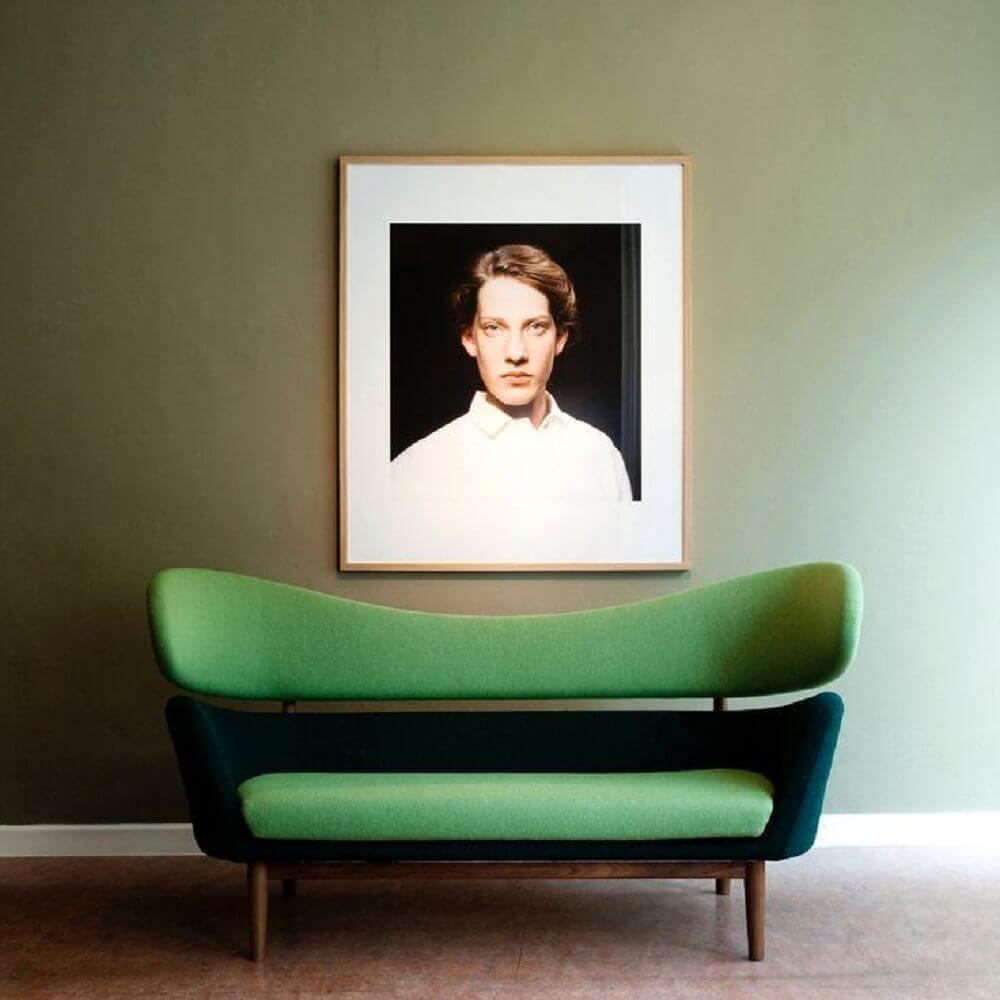 design arrojado para sofá moderno