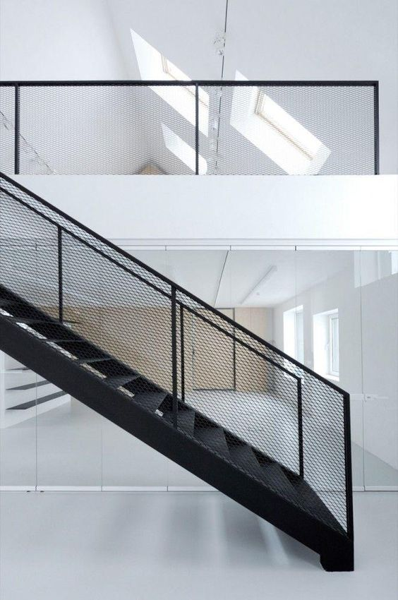 escada de ferro - escada e guarda corpo de ferro
