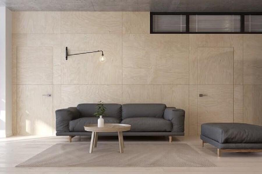 estilo minimalista para decoração de casas