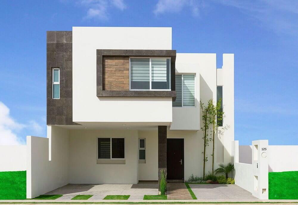 fachada de casas minimalistas