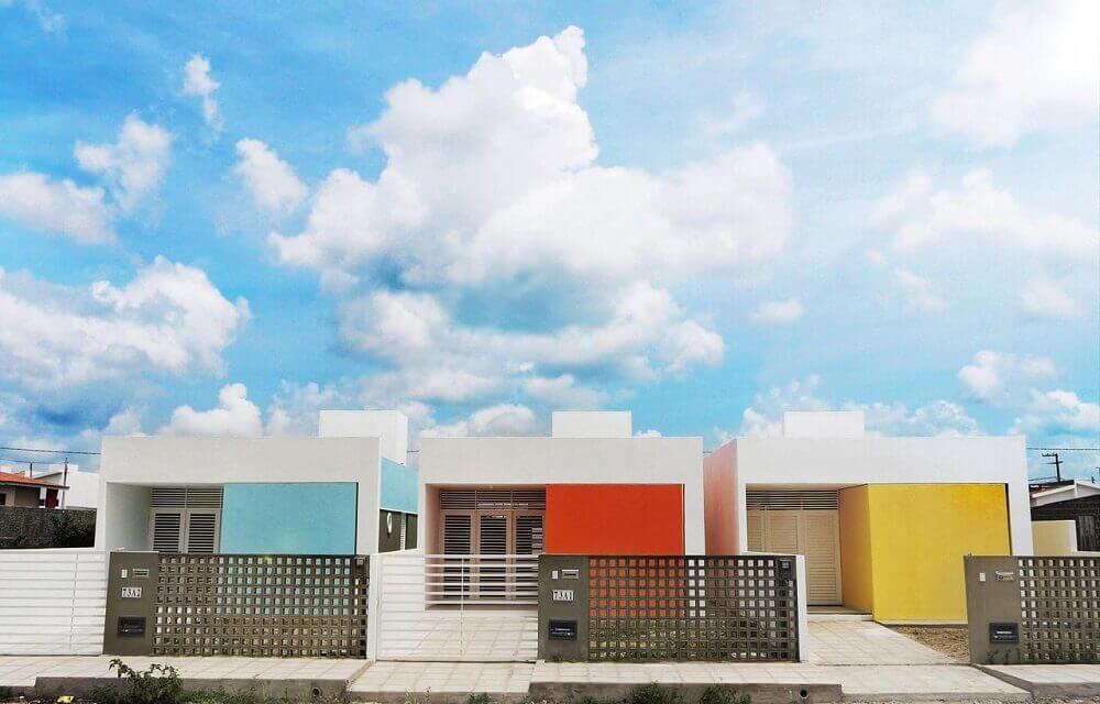 cores de tintas para pintar casas coloridas