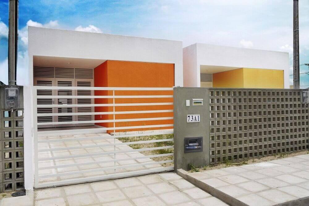 fachadas de casas fachada das casas coloridas