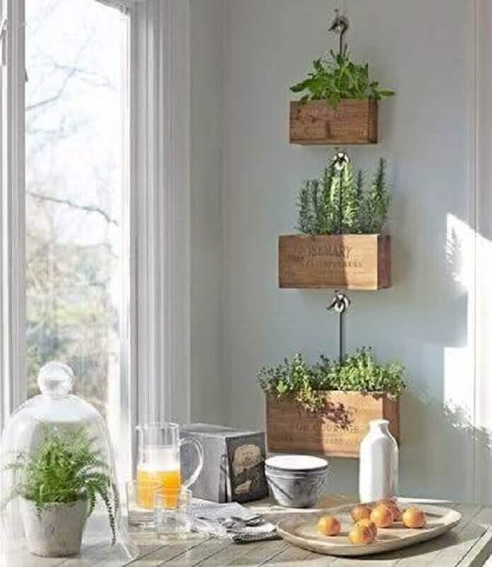 horta vertical para apartamento pequeno