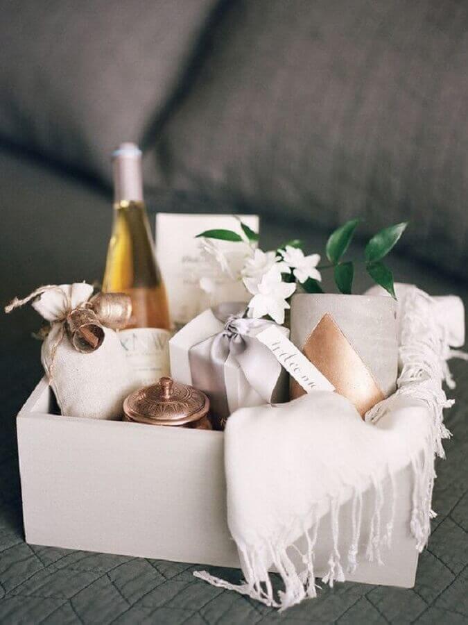 kit para lembrancinhas para padrinhos de casamento
