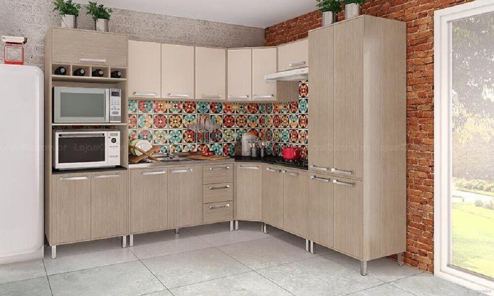 ladrilhos para cozinha simples