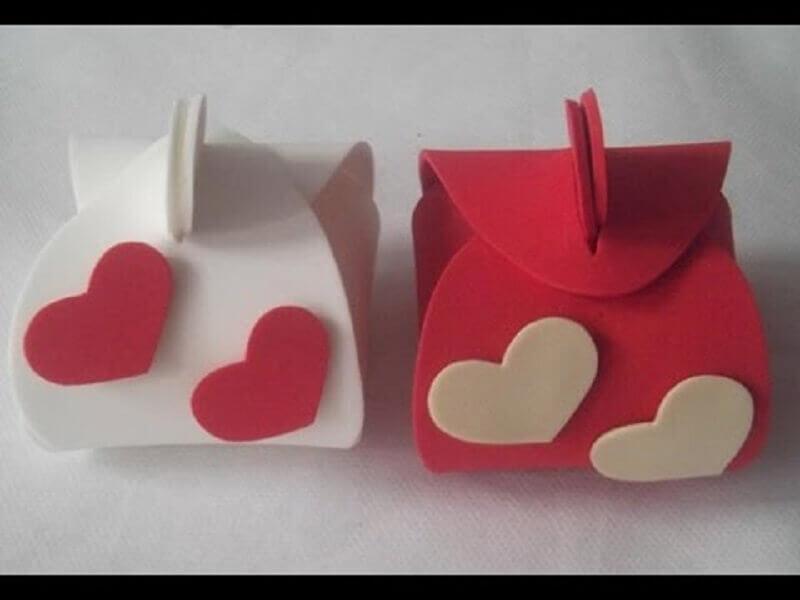 lembrancinhas de casamento em eva simples