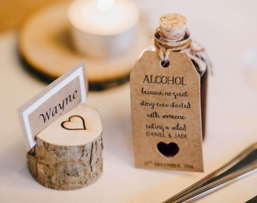 lindas e rústicas lembrancinhas para casamento simples