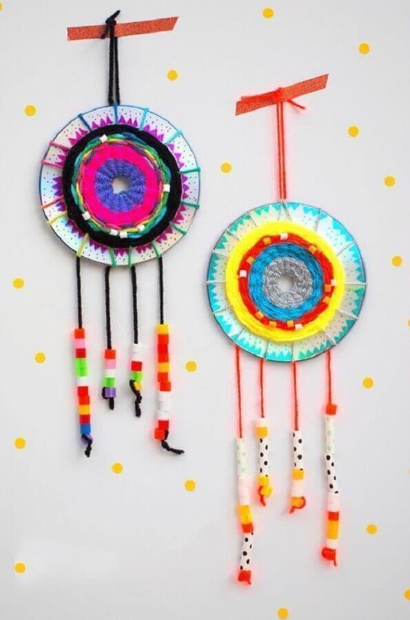 mandalas de decoração com CD