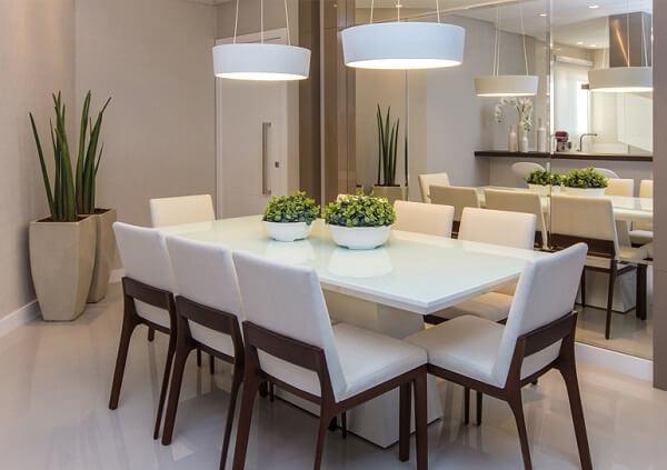 mesa para sala de jantar chique