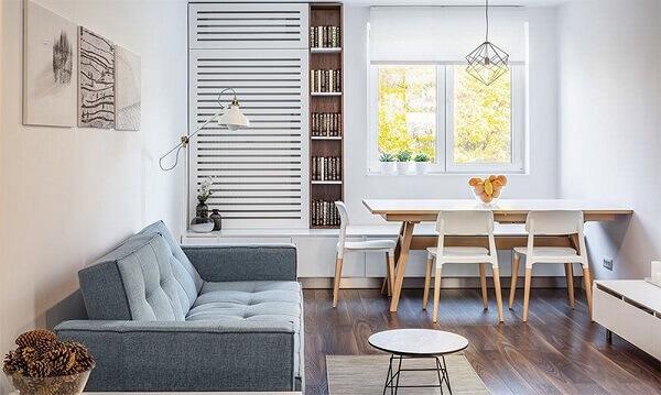 mesa para sala de jantar compacto