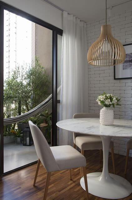 mesa para sala de jantar em granito branco