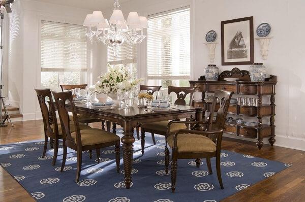 mesa para sala de jantar inglês