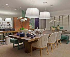 mesa para sala de jantar madeira