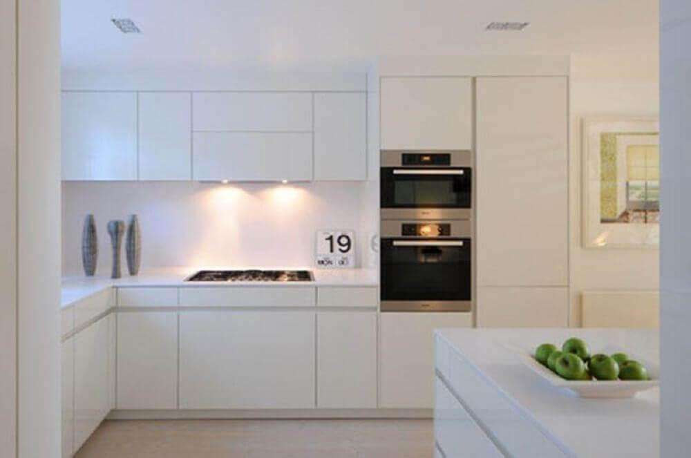 minimalismo para decoração de cozinha clean