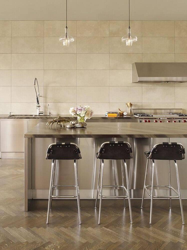 minimalismo para decoração de cozinha
