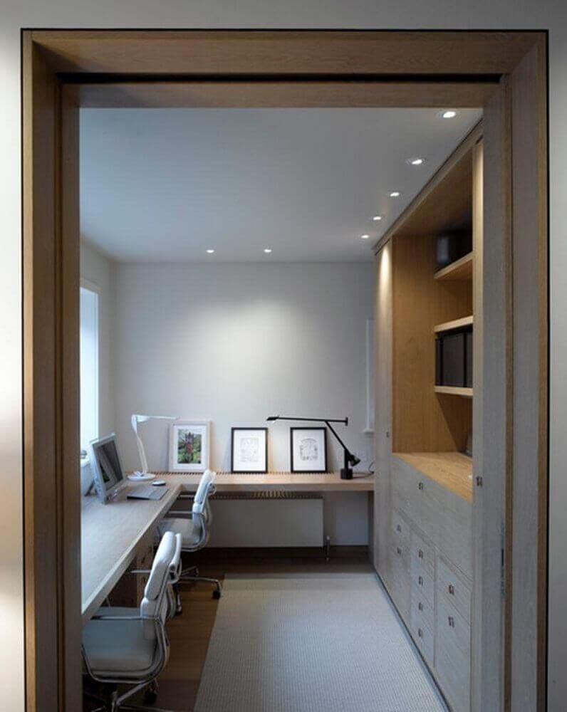 minimalismo para decoração de home office