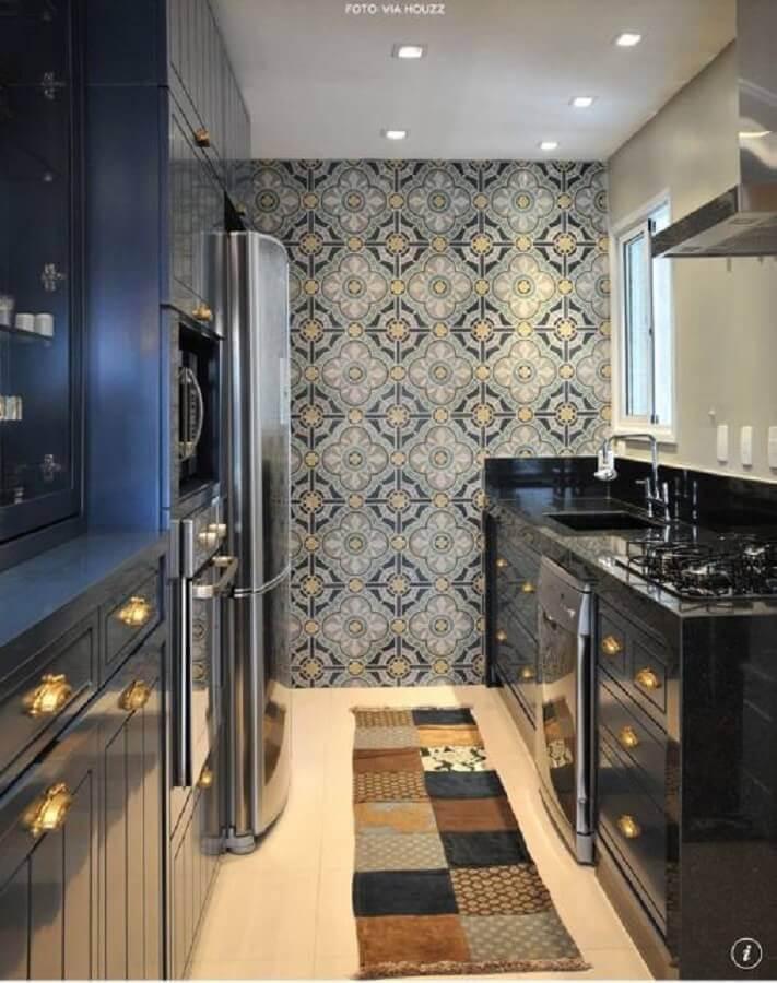 modelo de ladrilhos para cozinha decorada