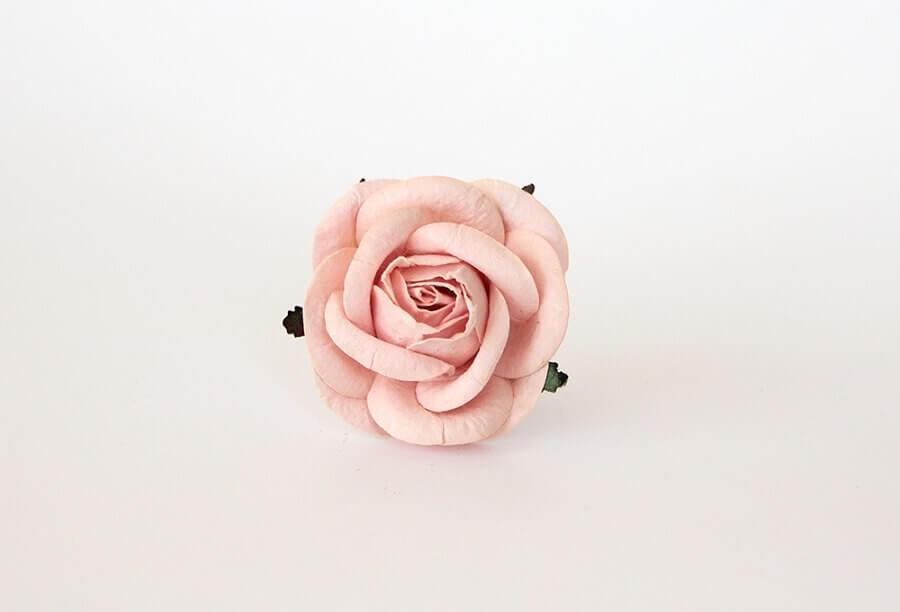 modelo de maxi flor de papel