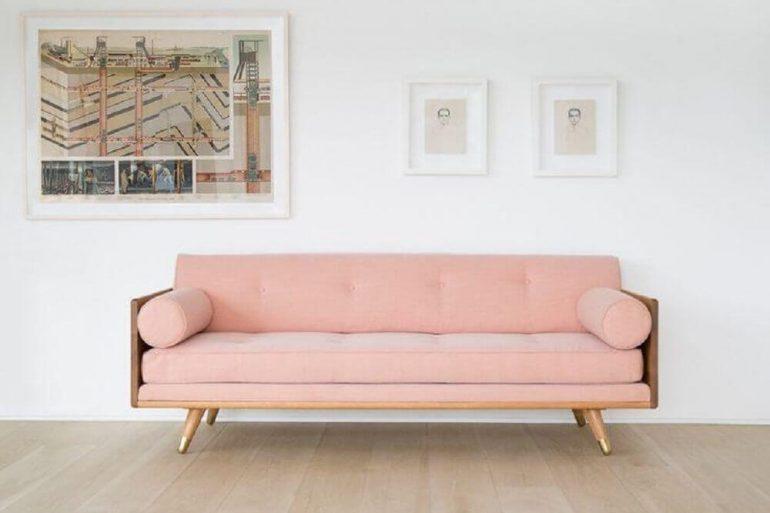 modelo de sofá moderno de madeira