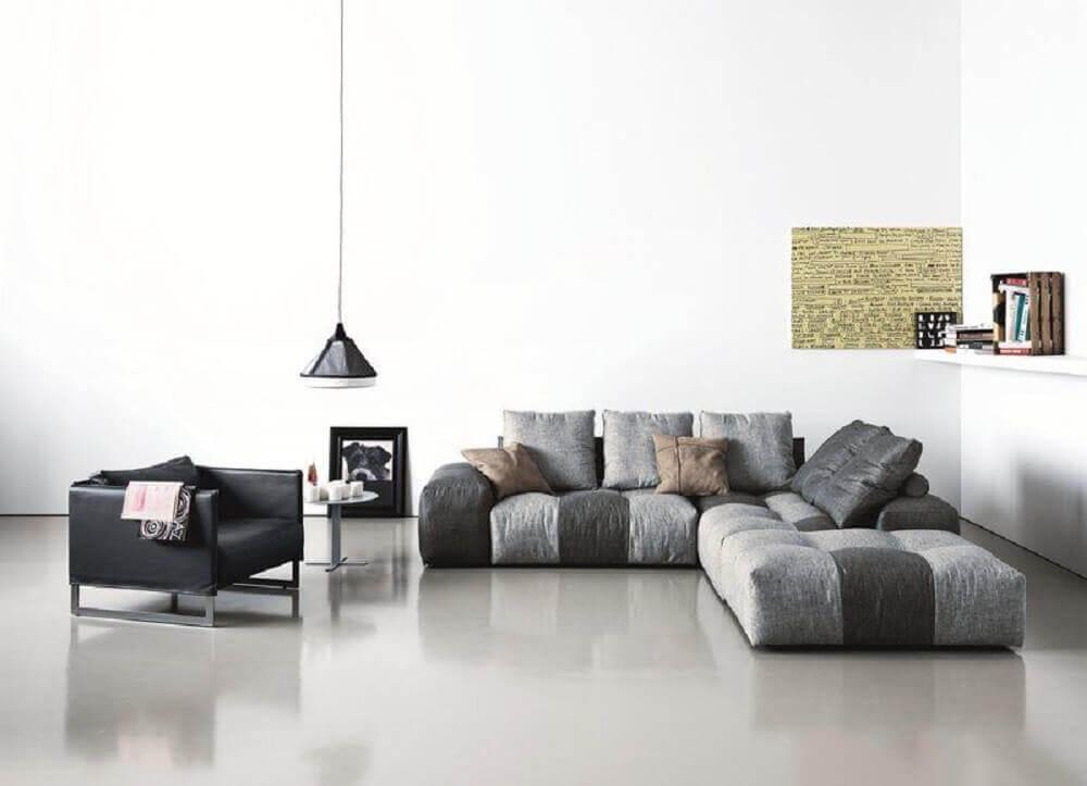 modelo de sofá moderno modular