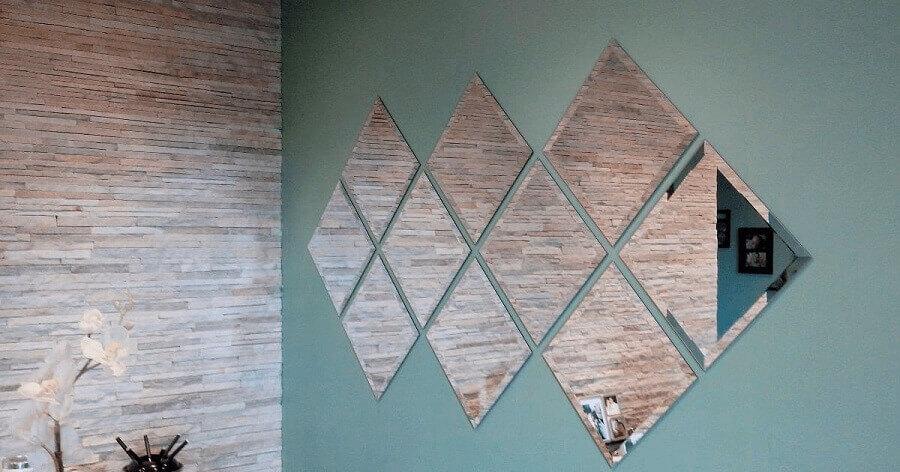 modelos de espelhos bisotados