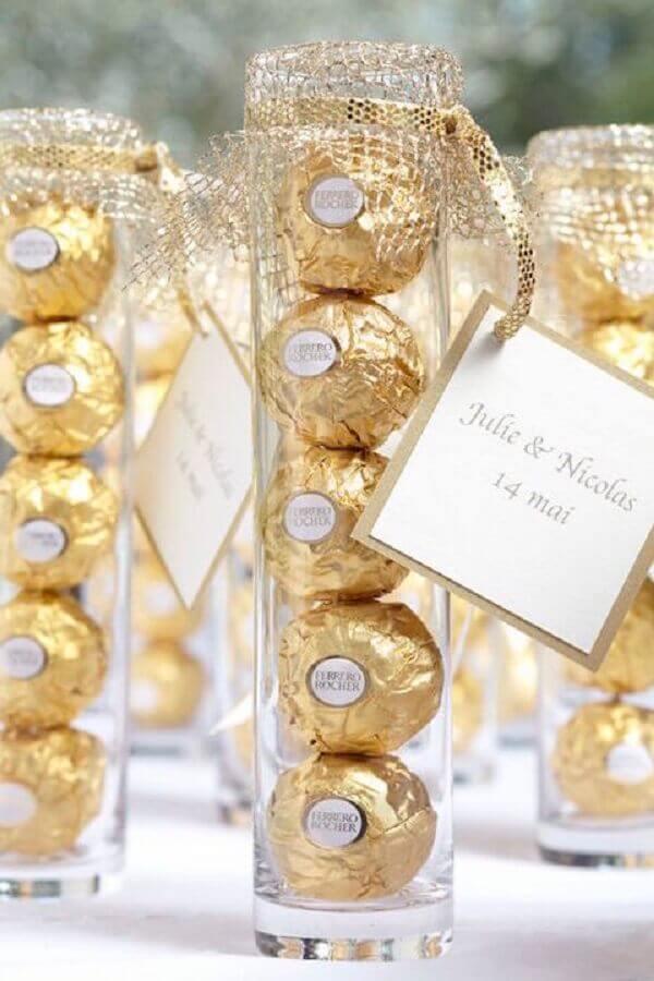 modelos de lembrancinhas de casamento baratas de chocolate