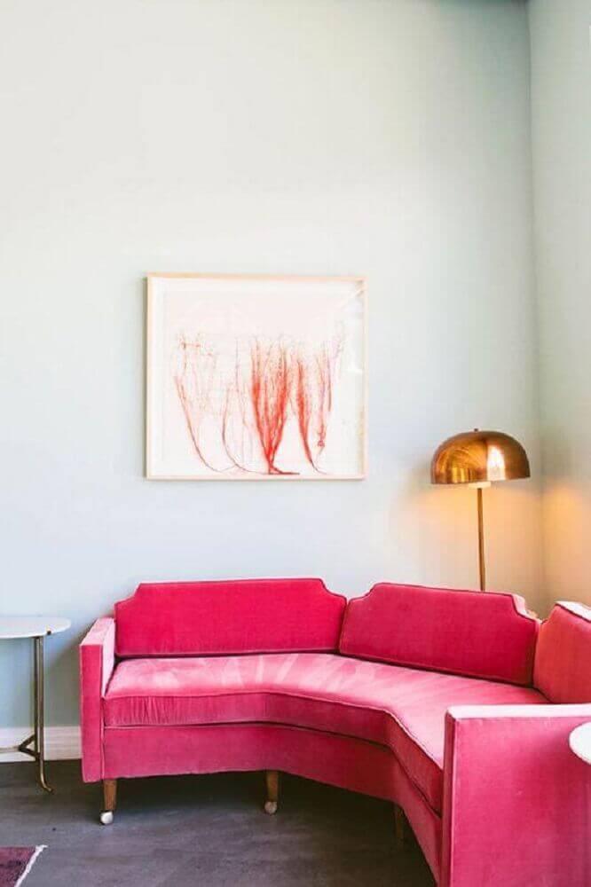 modelos de sofá de canto para sala pequena