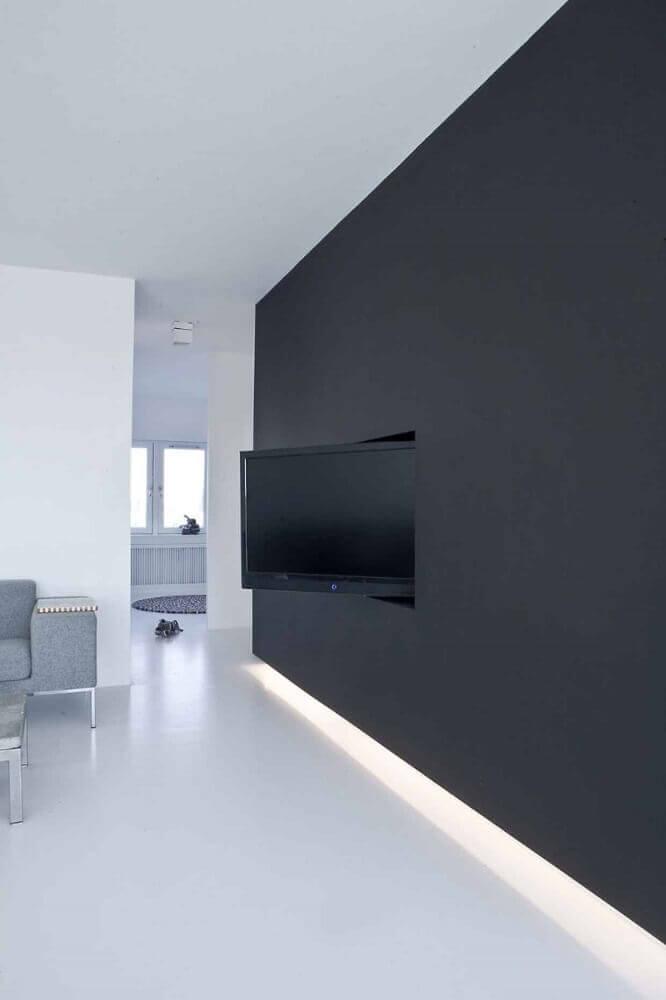 painel de TV para sala com base giratória