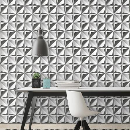 papel de parede 3d - projeto de papel de parede adesivo