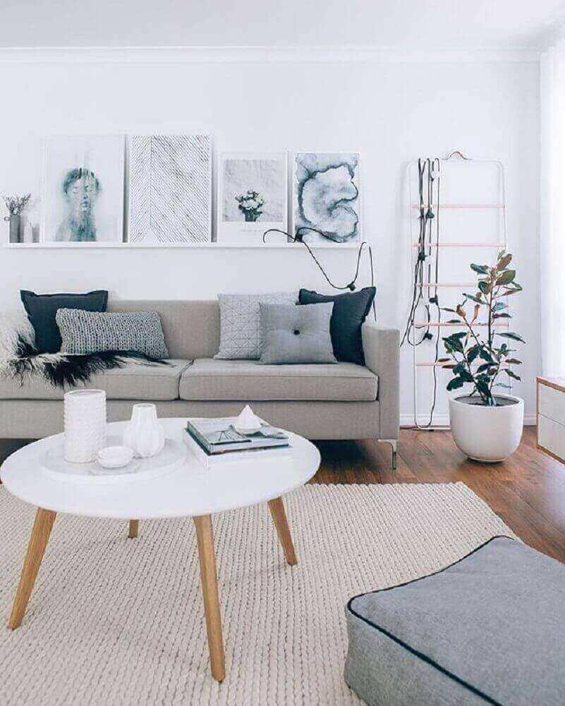 quadros minimalistas para sala decorada