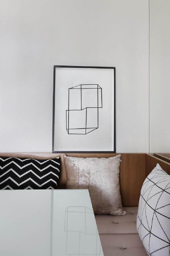 quadros minimalistas preto e branco