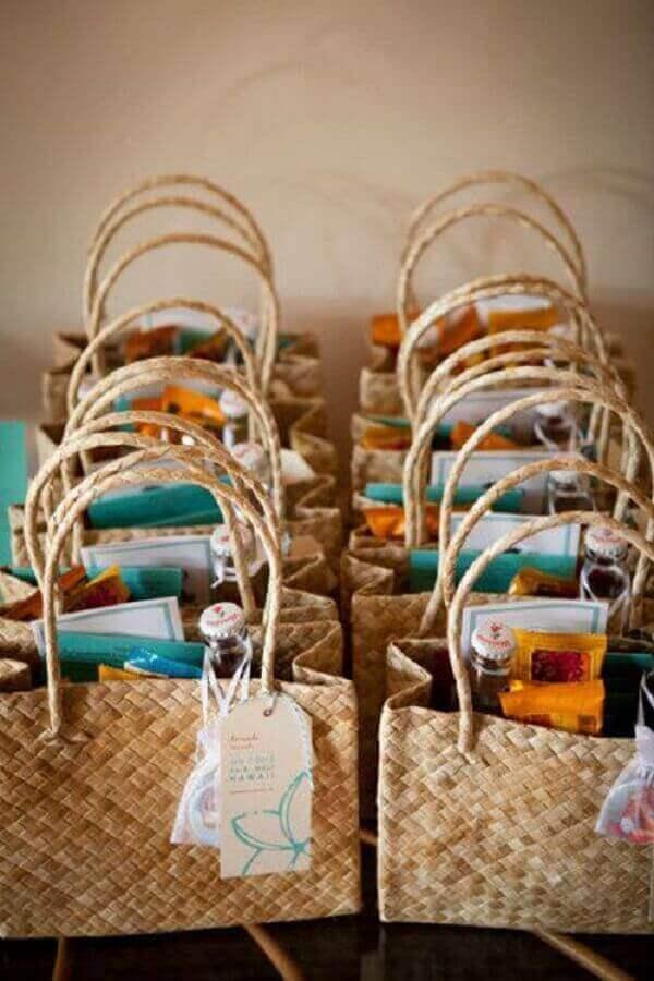 sacolinhas-de-praia-decoração-de-casamento-na-praia