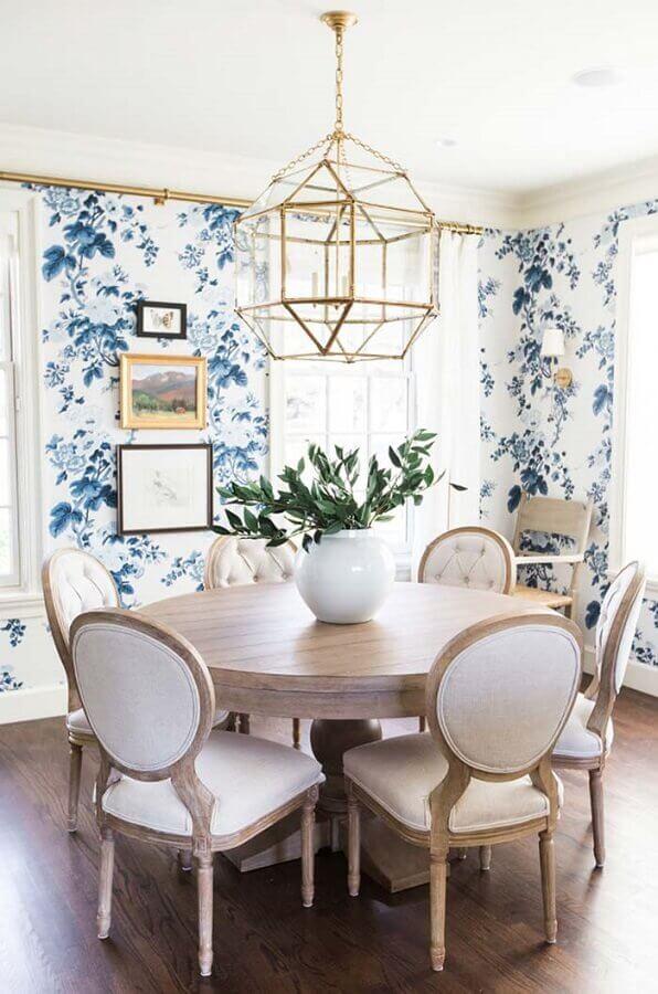 sala de jantar com estilo provençal