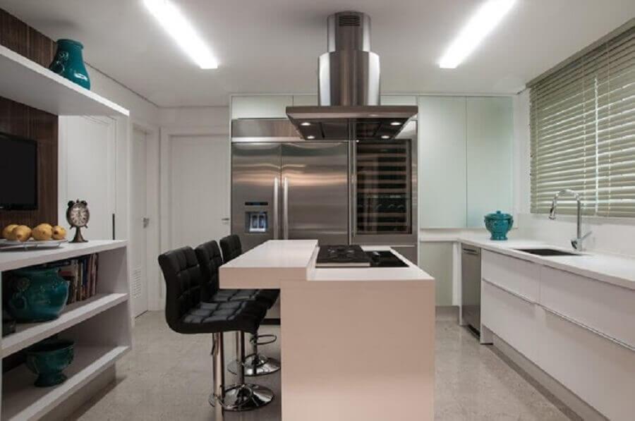 silestone branco para cozinha clean