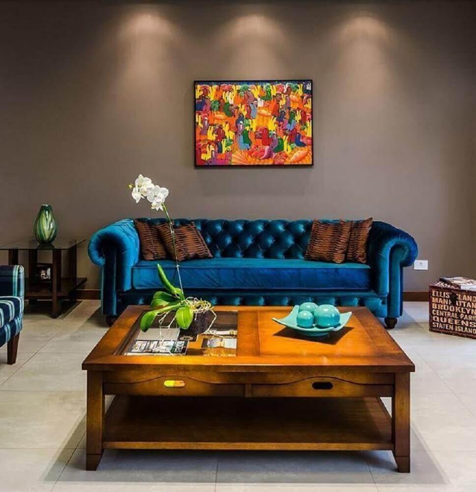 sofá para sala com estilo provençal
