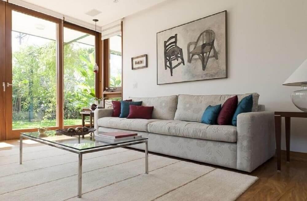 sofá para sala simples