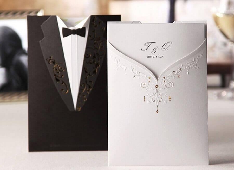 sofisticado embrulho de lembrancinhas de casamento