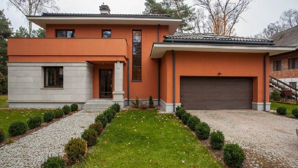tons de laranja em cores para pinta casa