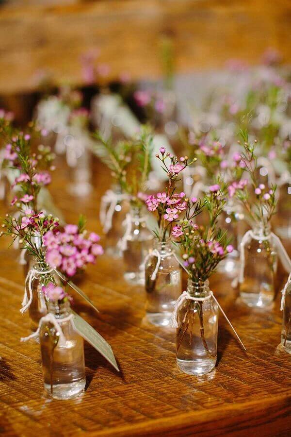 vasinhos de vidro lembrancinhas para casamento baratas