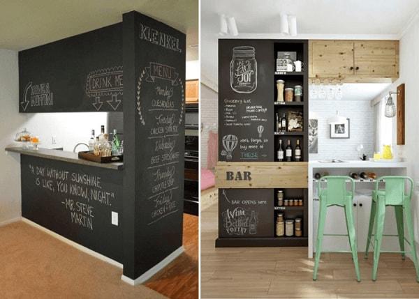 Barzinho para sala pequena home bar